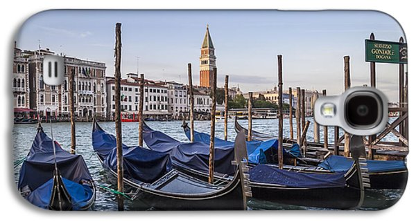 Ancient Galaxy S4 Cases - VENICE Grand Canal and Goldolas Galaxy S4 Case by Melanie Viola