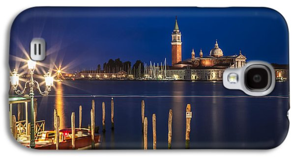 Ancient Galaxy S4 Cases - VENICE San Giorgio Maggiore at Blue Hour Galaxy S4 Case by Melanie Viola