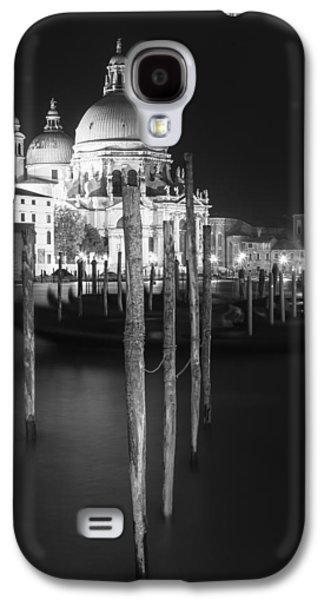 Ancient Galaxy S4 Cases - VENICE Santa Maria della Salute in black and white Galaxy S4 Case by Melanie Viola