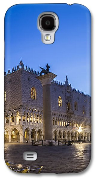 Ancient Galaxy S4 Cases - VENICE St Marks Square and Doges Palace in the Morning Galaxy S4 Case by Melanie Viola