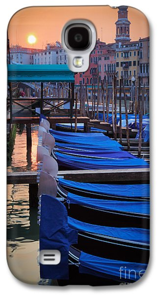 Recently Sold -  - Landscapes Photographs Galaxy S4 Cases - Venice Sunrise Galaxy S4 Case by Inge Johnsson