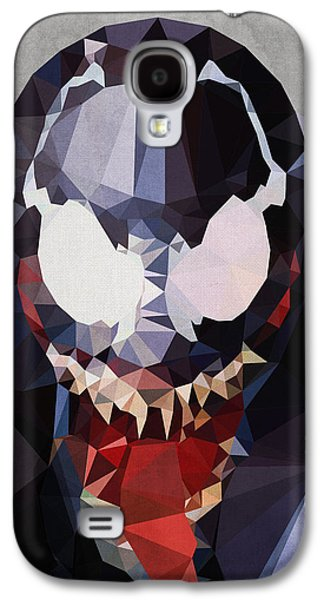 Dark Digital Art Galaxy S4 Cases - Venom Galaxy S4 Case by Daniel Hapi
