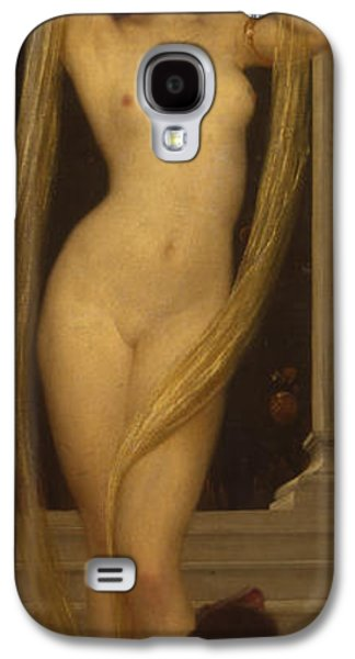 Venus And Cupid Galaxy S4 Case by Frederic Leighton