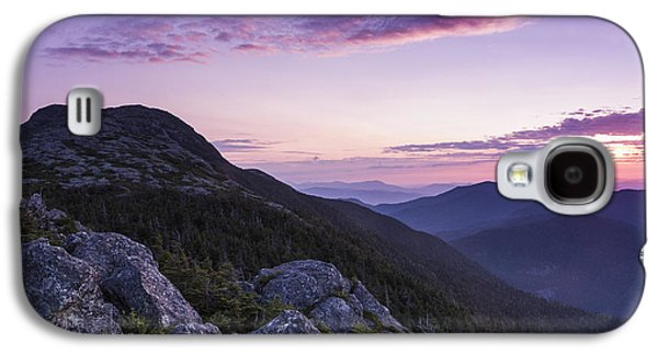 Nature Scene Photographs Galaxy S4 Cases - Vermont Mount Mansfield sunrise Green Mountains Galaxy S4 Case by Andy Gimino
