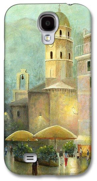 Vernazza Italy Galaxy S4 Case by Cecilia Brendel