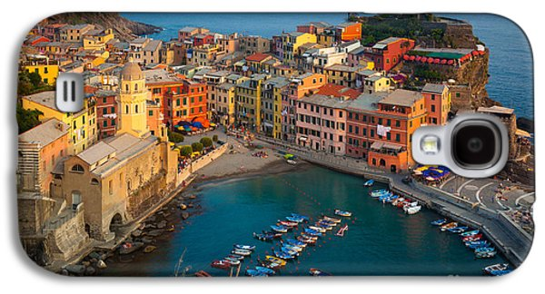 Beauty Galaxy S4 Cases - Vernazza Pomeriggio Galaxy S4 Case by Inge Johnsson