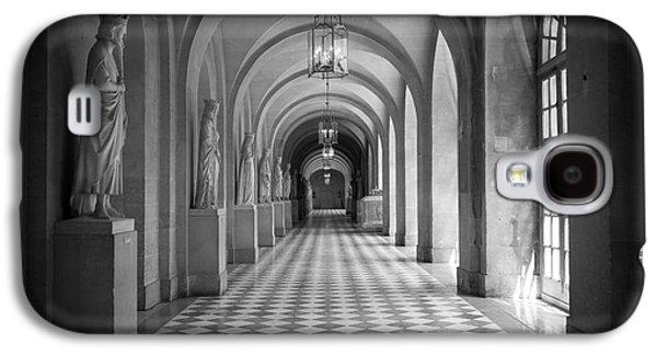 Europa Galaxy S4 Cases - Versailles Hallway Galaxy S4 Case by Inge Johnsson