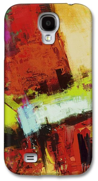 Loose Style Digital Art Galaxy S4 Cases - Vertical climb Galaxy S4 Case by Keith Mills