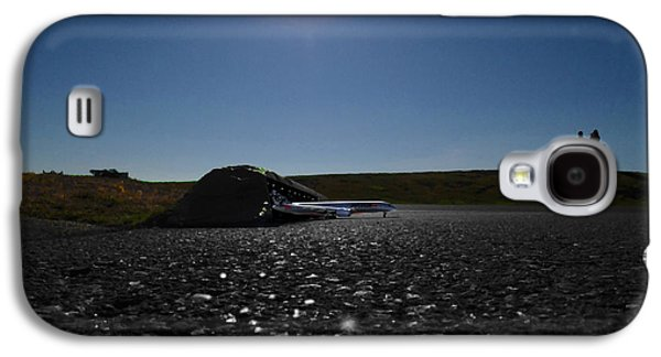 Very Hard Tarmac - Boeing 787 Galaxy S4 Case by Marcello Cicchini