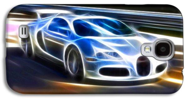 Transportation Mixed Media Galaxy S4 Cases - Veyron - Bugatti Galaxy S4 Case by Pamela Johnson
