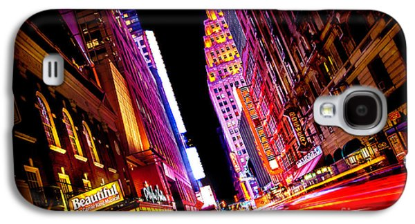 Vibrant New York City Galaxy S4 Case by Az Jackson