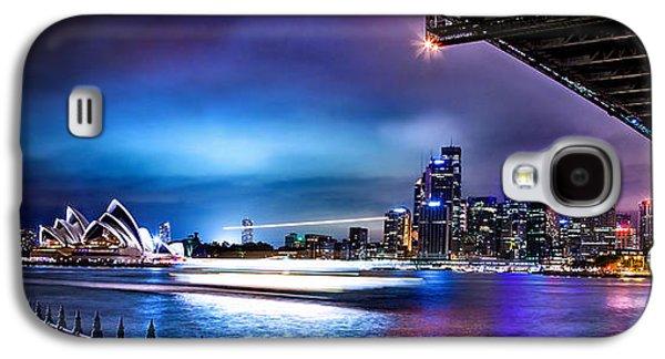 Business Galaxy S4 Cases - Vibrant Sydney Harbour Galaxy S4 Case by Az Jackson