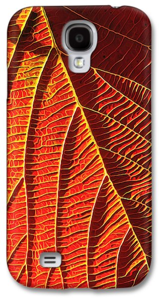 Photo Manipulation Digital Galaxy S4 Cases - Vibrant Viburnum Galaxy S4 Case by Bill Caldwell -        ABeautifulSky Photography