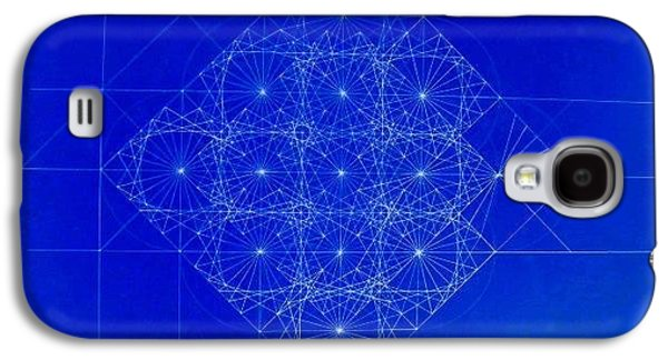 Einstein Drawings Galaxy S4 Cases - Vibrating Space Time Galaxy S4 Case by Jason Padgett