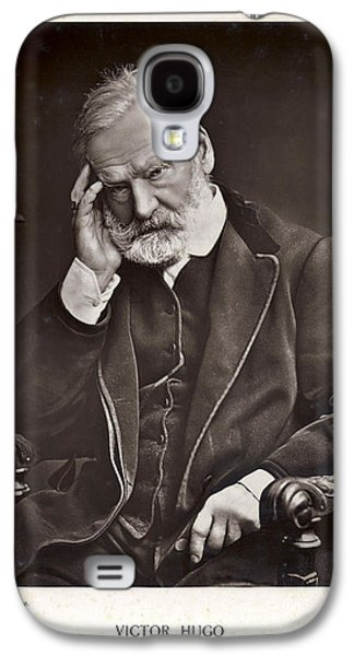 Historical Images Galaxy S4 Cases - Victor Hugo Galaxy S4 Case by Mary Evans
