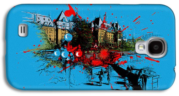 Whistler Paintings Galaxy S4 Cases - Victoria Art 003 Galaxy S4 Case by Catf