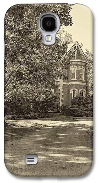 Architecture Metal Prints Galaxy S4 Cases - Victorian 2 sepia Galaxy S4 Case by Steve Harrington
