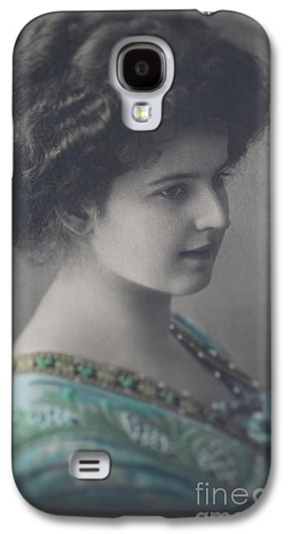 Victorian Photographs Galaxy S4 Cases - Victorian Beauty Galaxy S4 Case by Jan Bickerton