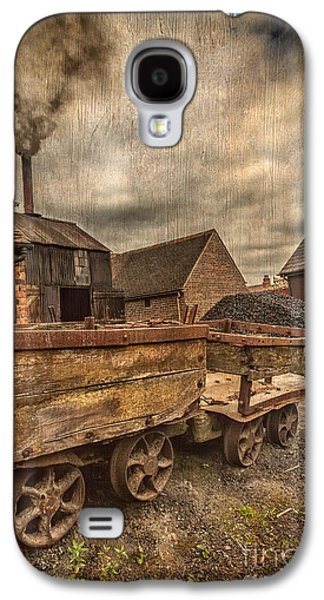 Industrial Digital Galaxy S4 Cases - Victorian Colliery Galaxy S4 Case by Adrian Evans