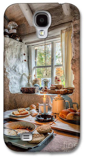 Working Class Galaxy S4 Cases - Victorian Cottage Breakfast v.2 Galaxy S4 Case by Adrian Evans