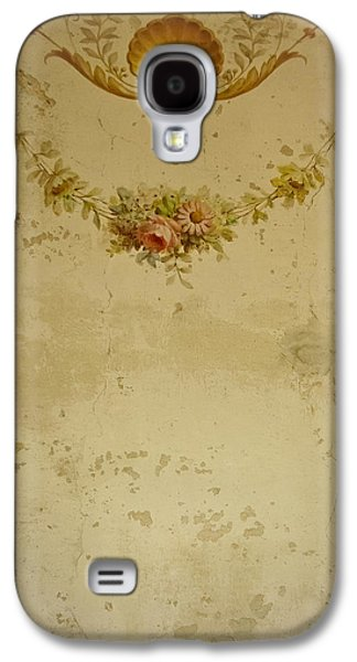 Dressing Room Galaxy S4 Cases - Victorian Floral Swag and Garland Galaxy S4 Case by Colleen Kammerer