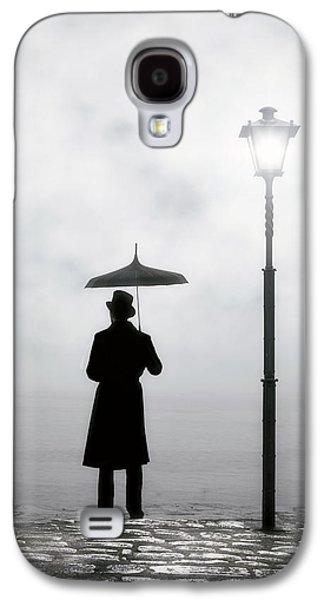 Stone Galaxy S4 Cases - Victorian Man Galaxy S4 Case by Joana Kruse