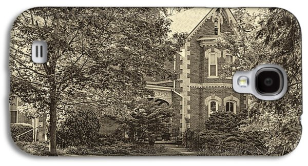 Architecture Metal Prints Galaxy S4 Cases - Victorian sepia Galaxy S4 Case by Steve Harrington