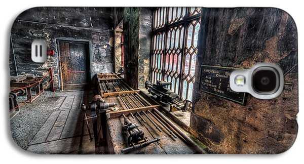 Machinery Galaxy S4 Cases - Victorian Workshops Galaxy S4 Case by Adrian Evans