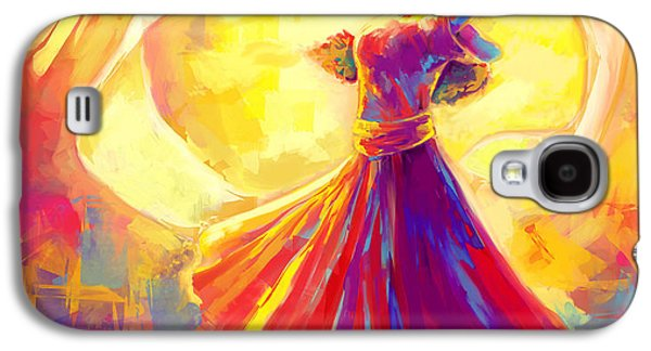 Christian work Paintings Galaxy S4 Cases - Victory Dance Galaxy S4 Case by Tamer and Cindy Elsharouni