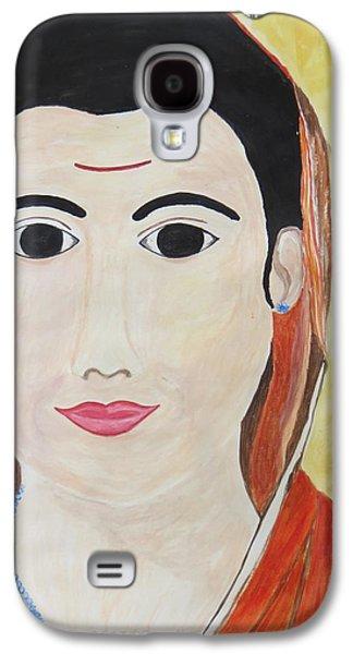 Reformer Paintings Galaxy S4 Cases - Vidya Jyoti Galaxy S4 Case by Sonali Gangane
