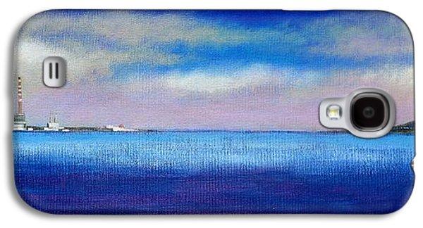 Impressionism Acrylic Prints Galaxy S4 Cases - View Form Blackrock Park Galaxy S4 Case by John  Nolan