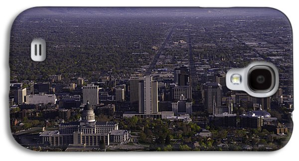 Main Street Galaxy S4 Cases - View From Ensign Galaxy S4 Case by Chad Dutson
