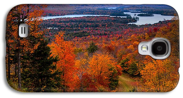 View From Mccauley Mountain II Galaxy S4 Case by David Patterson