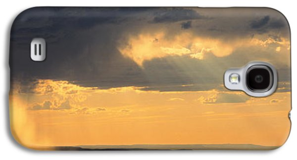Taos Galaxy S4 Cases - View From The High Road To Taos, New Galaxy S4 Case by Panoramic Images