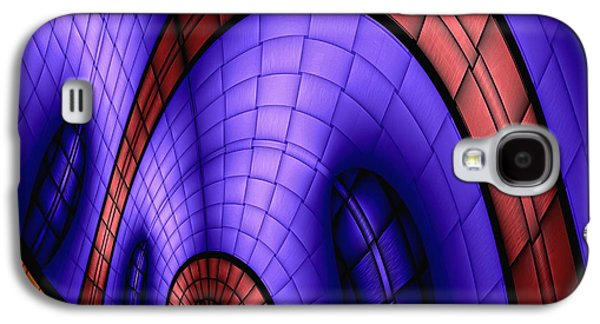 Abstract Digital Galaxy S4 Cases - View From The Top 1 Galaxy S4 Case by Wendy J St Christopher