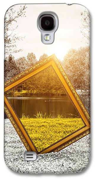 Concept Photographs Galaxy S4 Cases - View in color Galaxy S4 Case by Wim Lanclus
