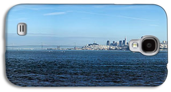 Alcatraz Galaxy S4 Cases - View Of Alcatraz Island And San Galaxy S4 Case by Panoramic Images