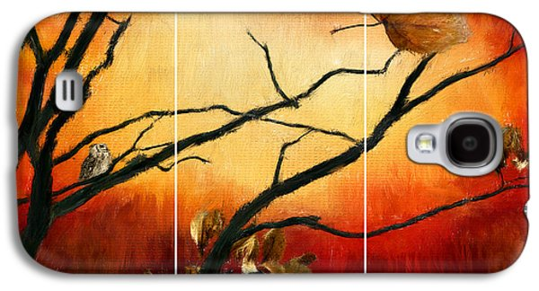 Reds Of Autumn Galaxy S4 Cases - View Of Autumn Galaxy S4 Case by Lourry Legarde