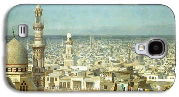 Gerome Galaxy S4 Cases - View of Cairo Galaxy S4 Case by Jean Leon Gerome
