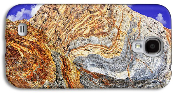 Rainbow Trout Digital Galaxy S4 Cases - View of Cliffs from Convict Lake Galaxy S4 Case by  Bob and Nadine Johnston