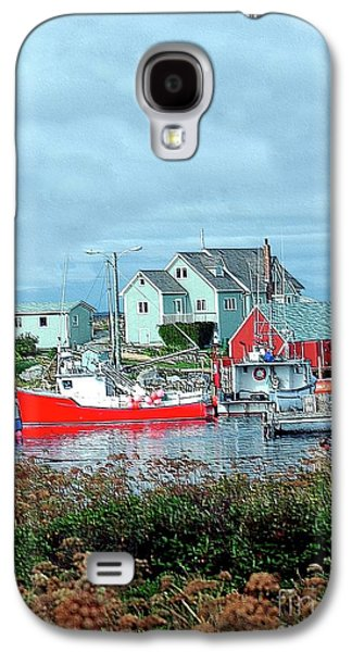 Struckle Galaxy S4 Cases - View Of Cove Galaxy S4 Case by Kathleen Struckle