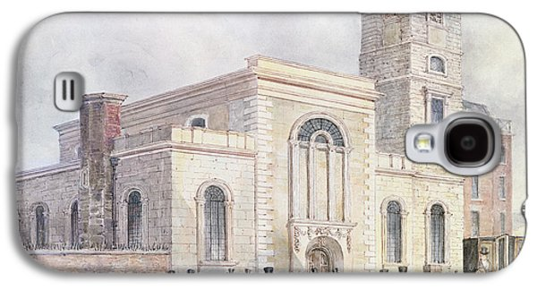 Religious Galaxy S4 Cases - View Of St. Bartholomews Church Wc On Paper Galaxy S4 Case by English School