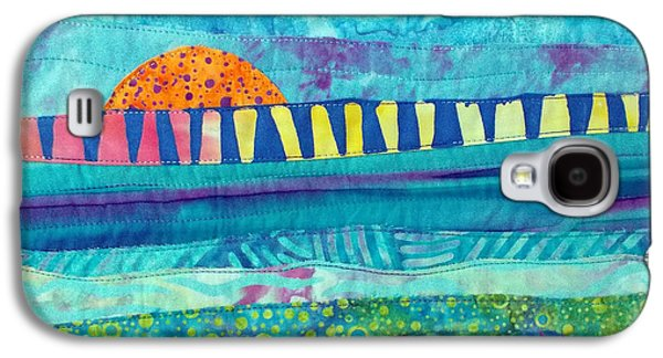 At Poster Tapestries - Textiles Galaxy S4 Cases - View of the Bridge Galaxy S4 Case by Susan Rienzo