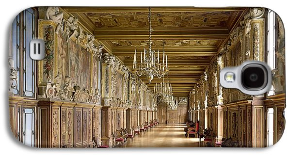 Francis Photographs Galaxy S4 Cases - View Of The Galerie Francois I, 1528-40 Photo Galaxy S4 Case by French School
