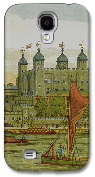 View Of The Tower Of London Galaxy S4 Case by British Library