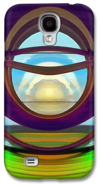 Dreamscape Galaxy S4 Cases - View to the Winter Sun Galaxy S4 Case by Wendy J St Christopher