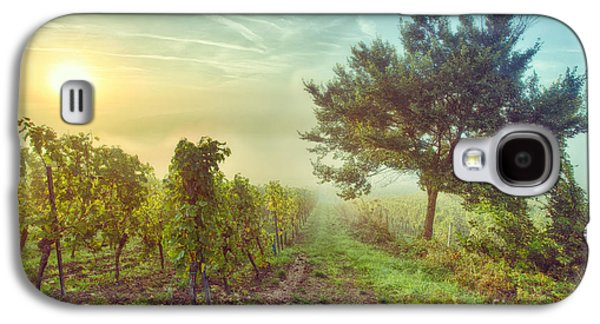 Vineyards Of Alsace Photographs Galaxy S4 Cases - Vignoble alsacien Galaxy S4 Case by Bach Jockers Pia