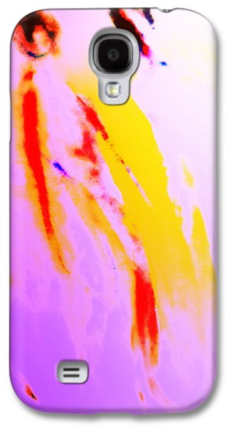 Luminous Body Galaxy S4 Cases - Vikings At A Sunday Walk Galaxy S4 Case by Hilde Widerberg