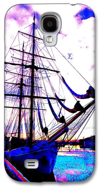 Component Photographs Galaxy S4 Cases - Vikings Go Sailing  Galaxy S4 Case by Hilde Widerberg