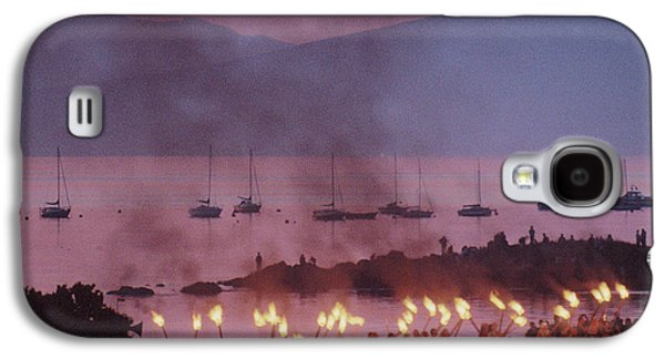 Historical Re-enactments Galaxy S4 Cases - Vikings Galaxy S4 Case by Liz Leyden